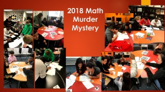 Math Murder Mystery Picture Collage 1